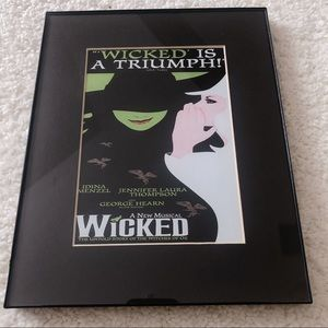 Wicked Poster in Frame